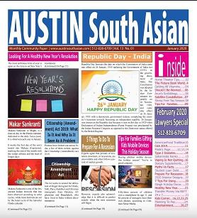 Austin South Asian – January 2020