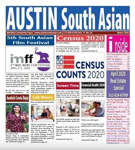 Austin South Asian – March 2020