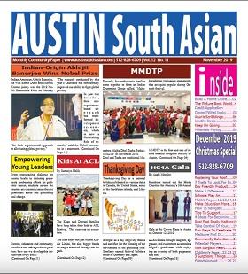 Austin South Asian November – 2019