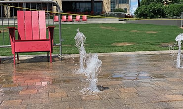Splash Pads Bring the Summer Fun